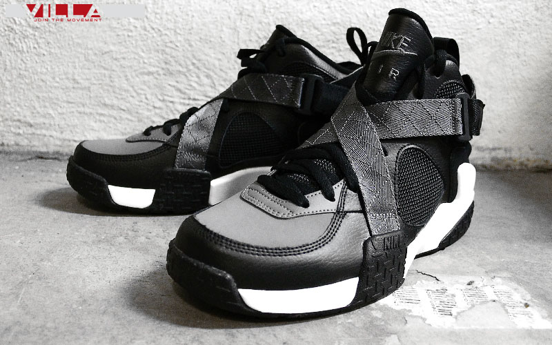 8f2957ba38fc Nike Air Raid Black Flint Grey-White 642330-002 (5)