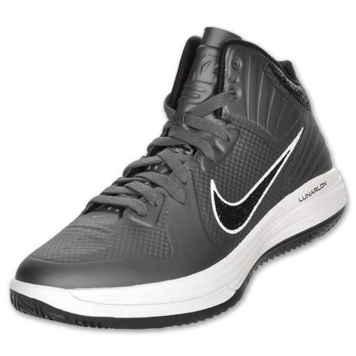Nike Lunar Hypergamer Grey Black White 469756-009 3