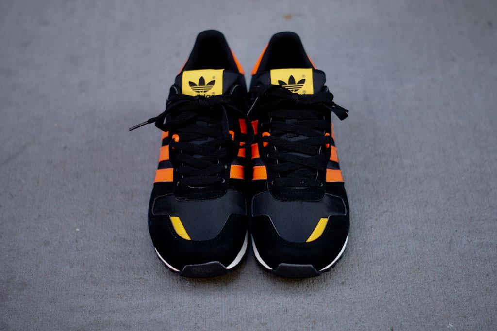 on sale e26eb e35d7 adidas ZX 700 - Black/Orange | Sole Collector