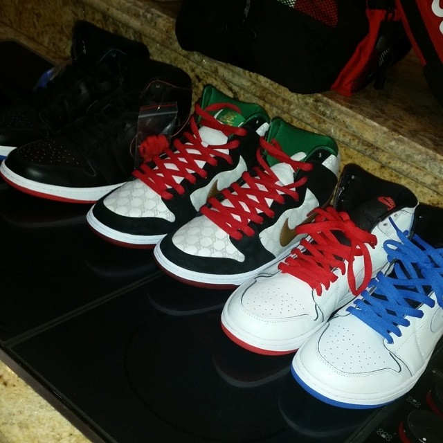 Chumlee Picks Up Nike SB Air Jordan 1 & Black Sheep x Nike SB Dunk High