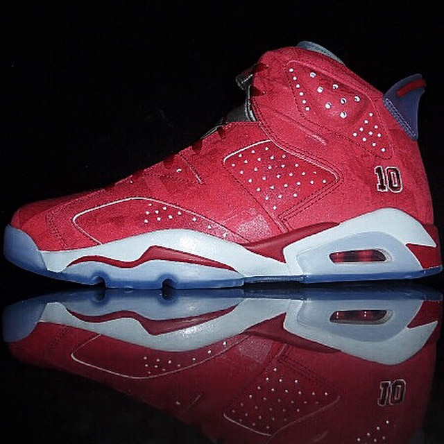 DJ Clark Kent Picks Up Slam Dunk x Air Jordan VI 6