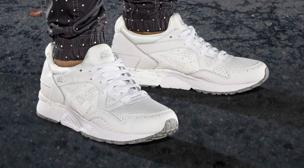 asics gel lyte 5 all white