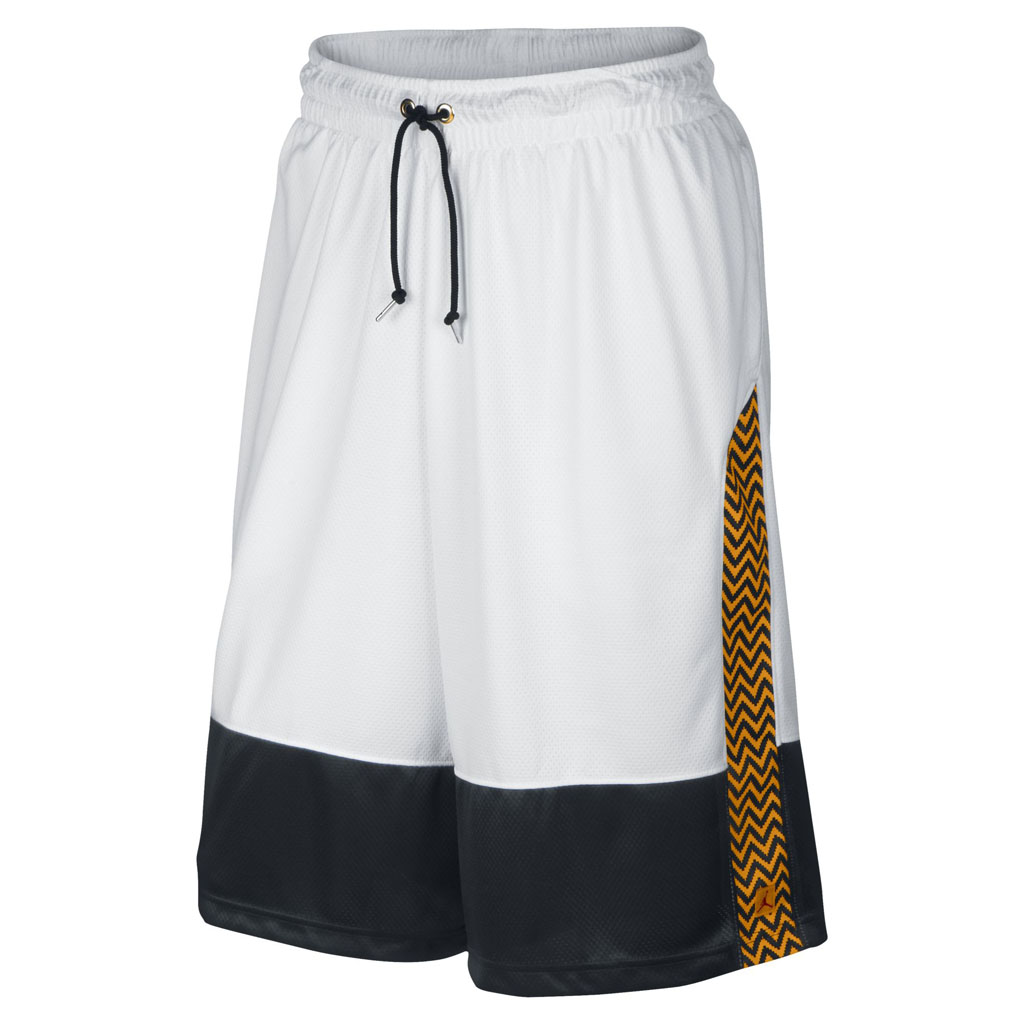 Air Jordan 12 Retro 'Taxi' Collection AJ XII Shorts White