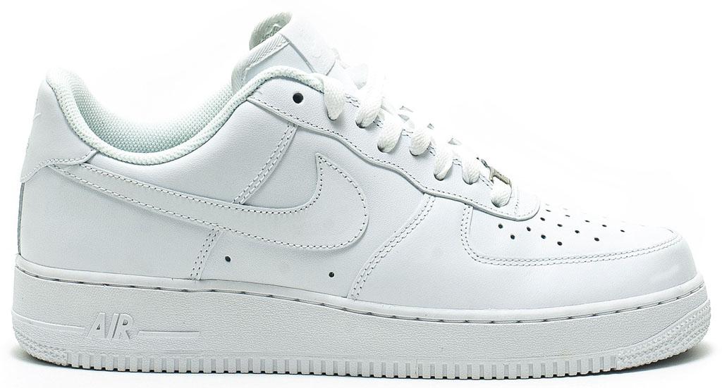 Nike Air Force Braune Sohle estrelinha