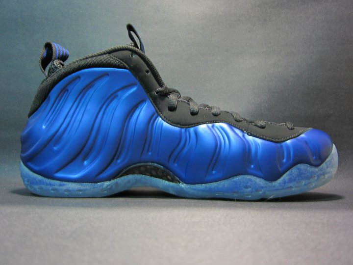 new arrival f5383 0c705 Nike Air Foamposite One Dark Neon Royal White Black 314996-500 ...