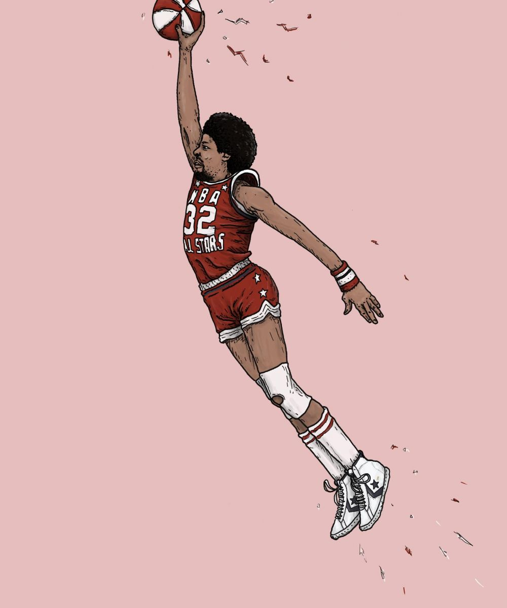 Greatest Dunk Contest Moments: Julius Erving in 1976