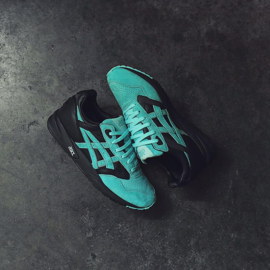 Ronnie Fieg x Diamond Supply x ASICS GEL Saga 'Tiffany' Release Date