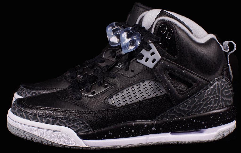 info for 721d6 a815c Jordan Spiz ike GS Black Grey Release Date 317321-003