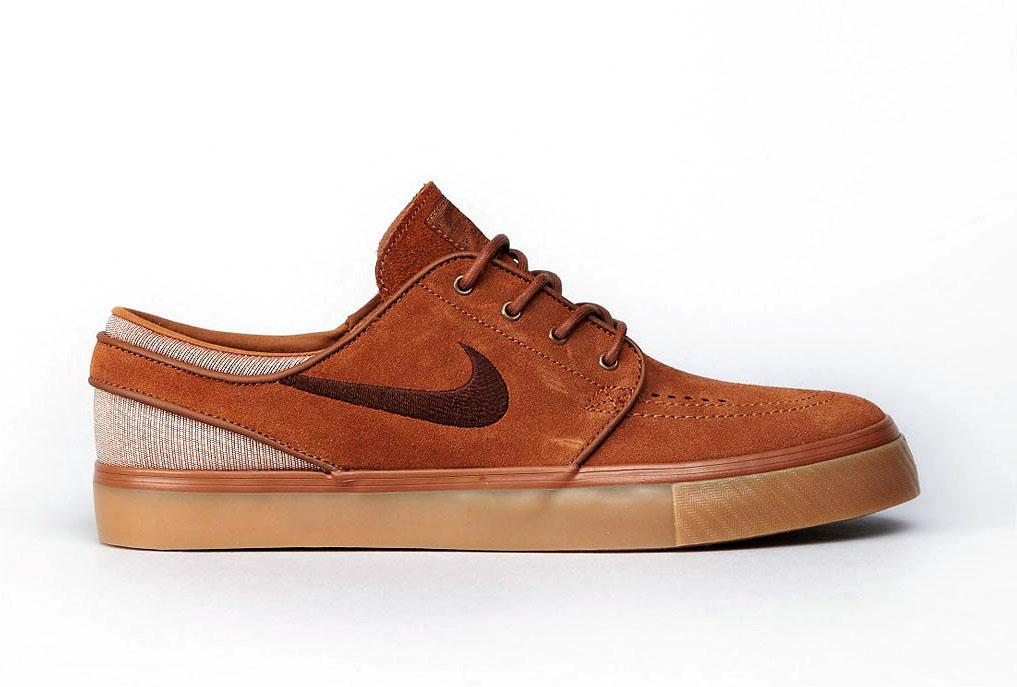 Nike Zoom Stefan Janoski - Light British Tan / Dark Field Brown