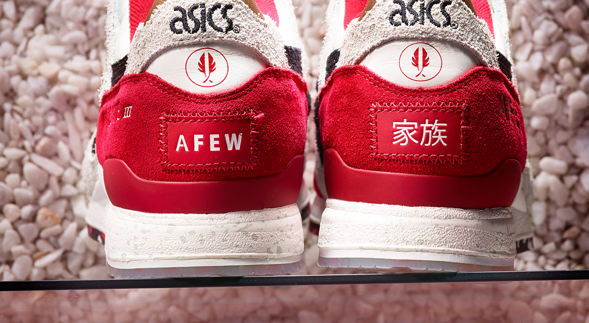 Release Date: Afew x Asics Gel Lyte III 'Koi' | Sole Collector
