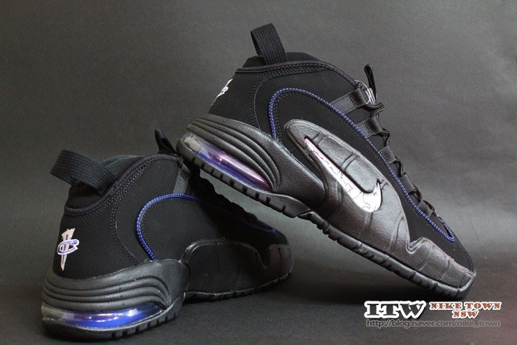 separation shoes 3a8cf f7d38 Nike Air Max Penny 1 Black Royal-Silver-White 685153-001 (