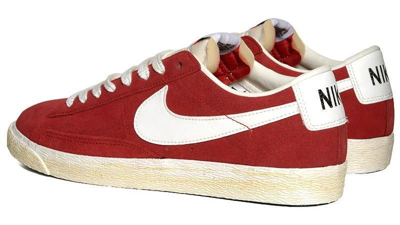 timeless design b3465 3f321 New for spring, Nike drops a premium vintage Blazer Low with a varsity red  weathered suede upper.