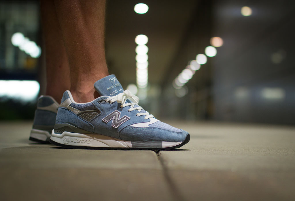 blackforestco in the New Balance 998LL