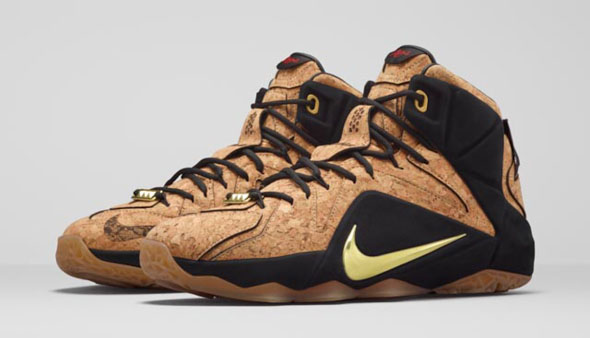 a329d4d891eb The  Cork  Nike LeBron 12 Release Is Just a Week Away