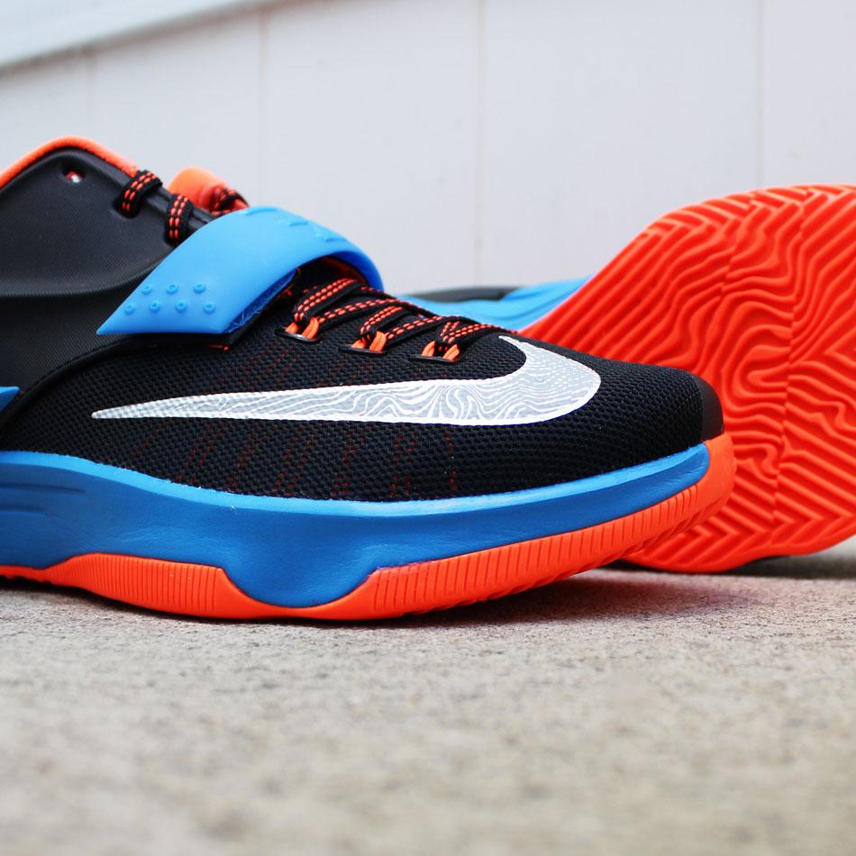 d96df00a6a44 Nike KD 7  OKC Away  in Detail   New Release Date