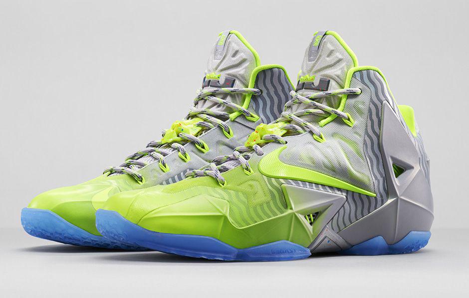 online retailer 807f8 df894 Nike LeBron XI 11 Maison LeBron Volt 683252-074 (1)