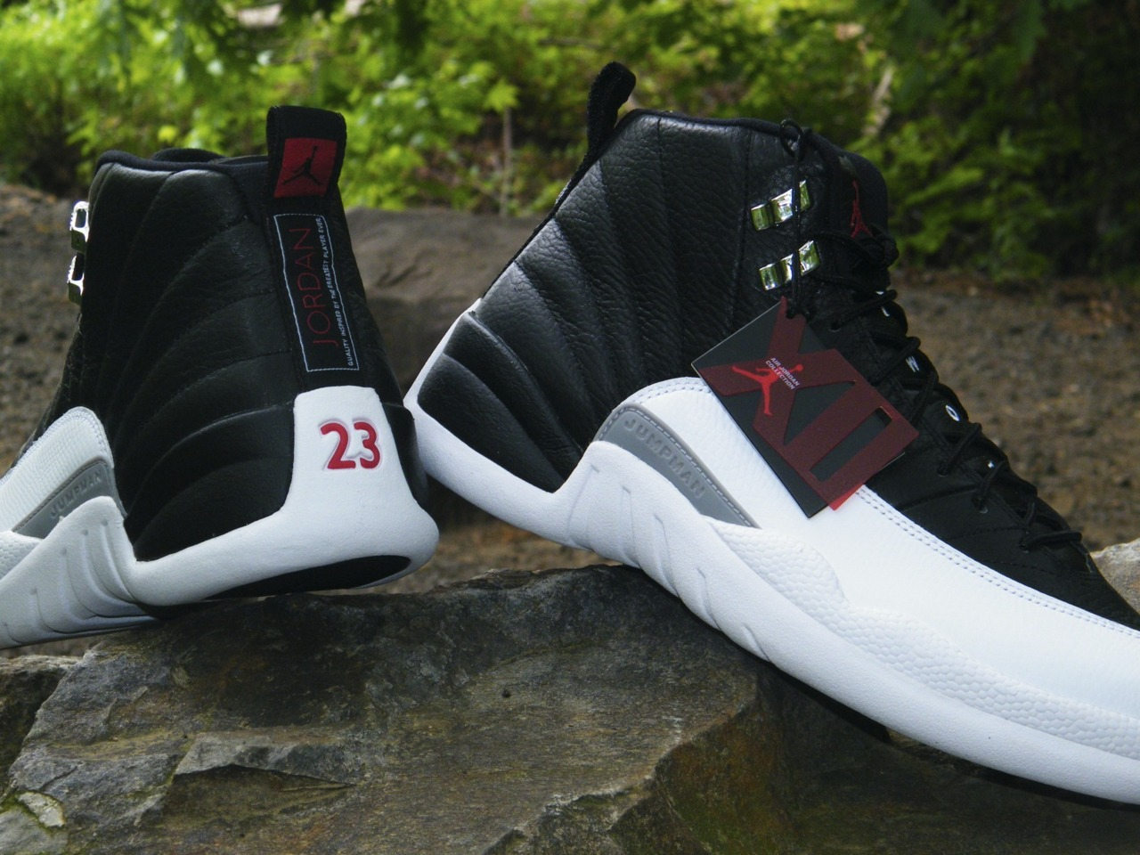 News 2012 04 Air Jordan Retro 12 Playoffs New Images 3 Jordan Retro 12