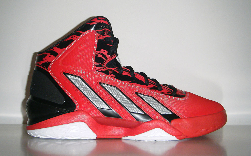 the best attitude f0cb2 dea3a adidas adiPower Howard 3 Red Black (1)