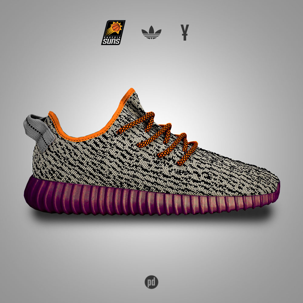 adidas Yeezy 350 Boost for the Phoenix Suns