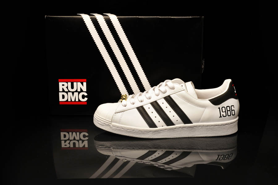 "adidas Originals Superstar 80s - Run DMC ""My adidas"" 25th Anniversary 14"