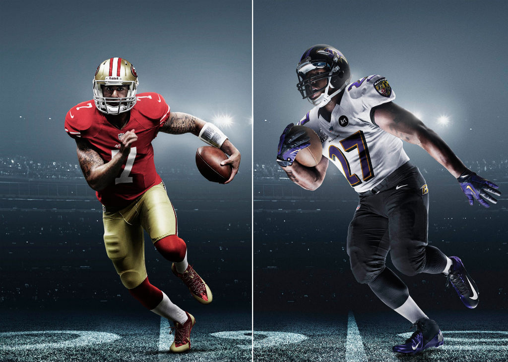 Nike Unveils Super Bowl XLVII Uniforms & Cleats for Ravens and 49ers