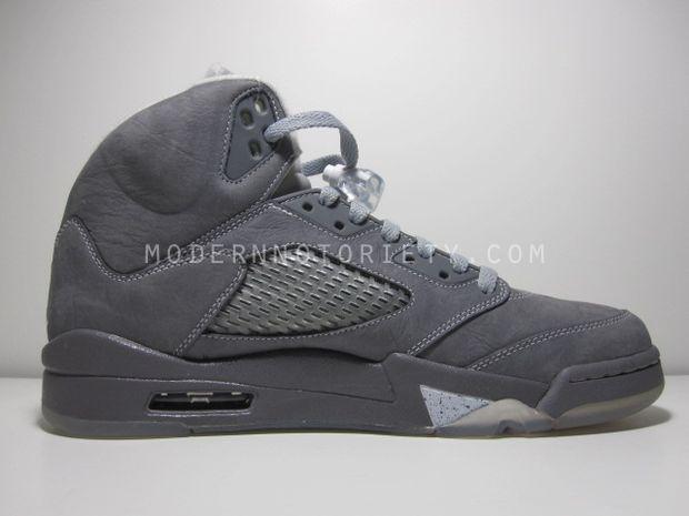Air Jordan Retro 5 - Light Graphite White-Wolf Grey - New Images ... 87bdee23f