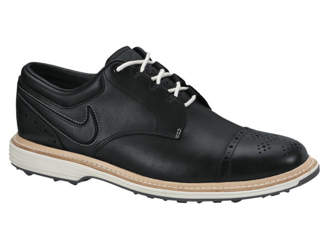 Nike Golf Lunar Clayton in Black and White