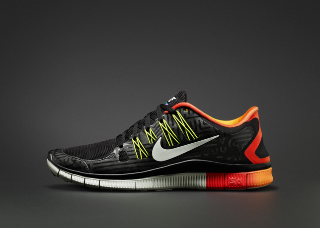 custom nike free running shoes