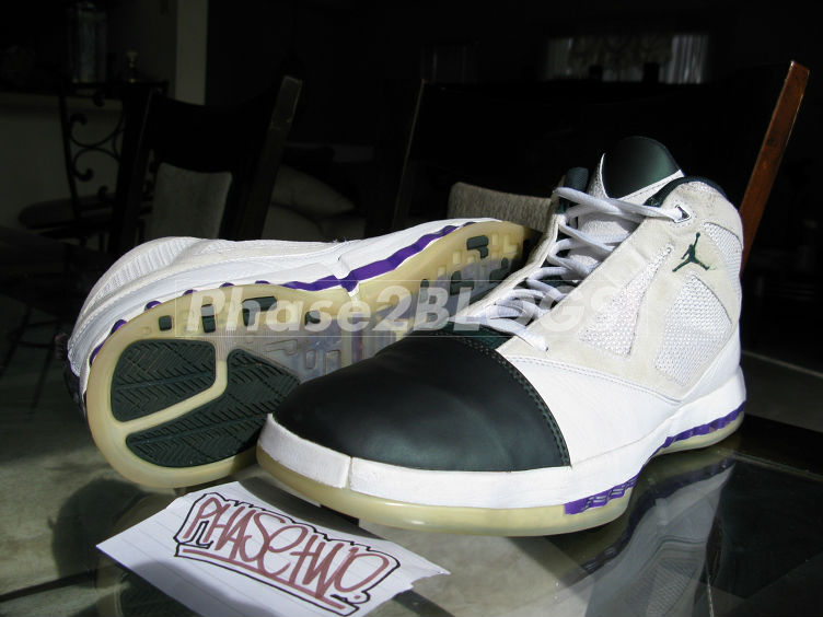 Air Jordan XVI 16 Milwaukee Bucks Home PE