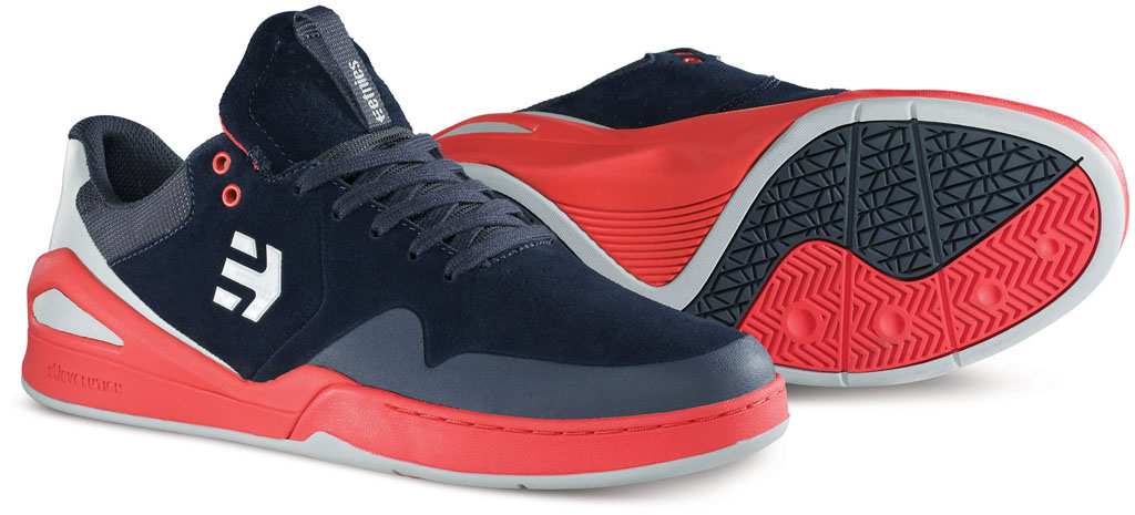 etnies Marana E-Elite Navy/Orange (2)