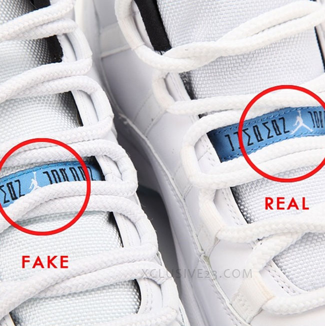 new concept 45c76 e6ed3 Air Jordan 11 'Legend Blue' - Authentic Vs. Fake | Sole ...