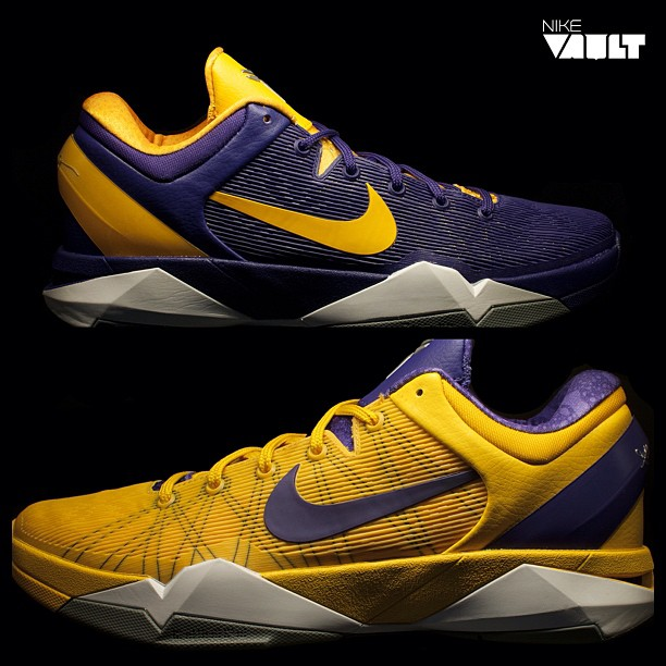 innovative design 332c2 dc9ff Nike Zoom Kobe VII  Positive Negative  at Nike Vault