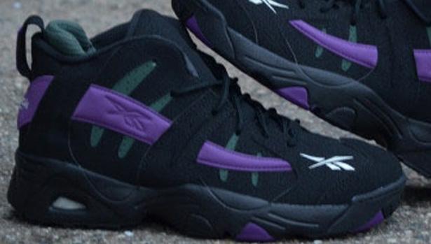 Reebok The Rail Black/Purple-Olive
