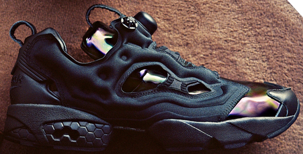 Reebok Instapump Fury Black/Metallic