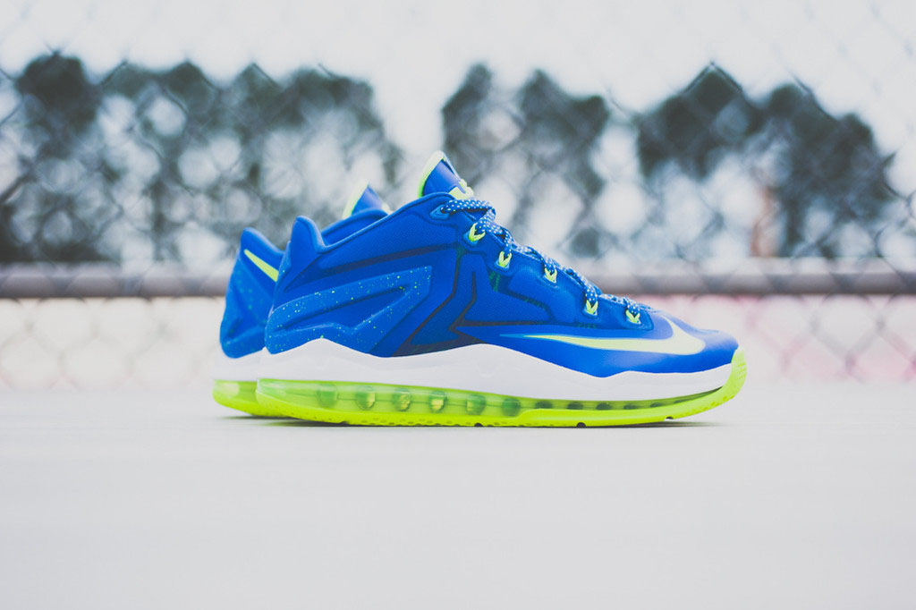 outlet store bff6f 2ea3b Another Look At The  Sprite  Nike LeBron 11 Low