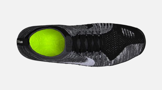 best website 541a4 2c0e3 Nike Free Hyperfeel in Black Wolf Grey Dark Grey top view