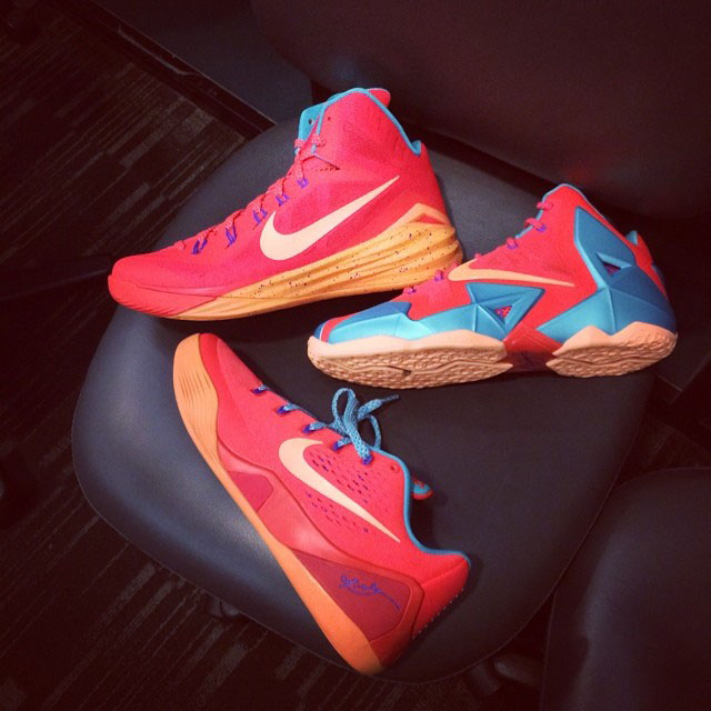 Nike LeBron 11, Kobe 9 EM & Hyperdunk 2014 All-Star for Cappie Pondexter