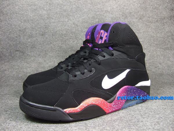 sneakers for cheap 25326 4fca1 Nike Air Force 180 High Black Court Purple Rave Pink White 537330-017 (4