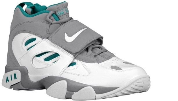 Nike Air Diamond Turf II Stealth/Fresh Water-White