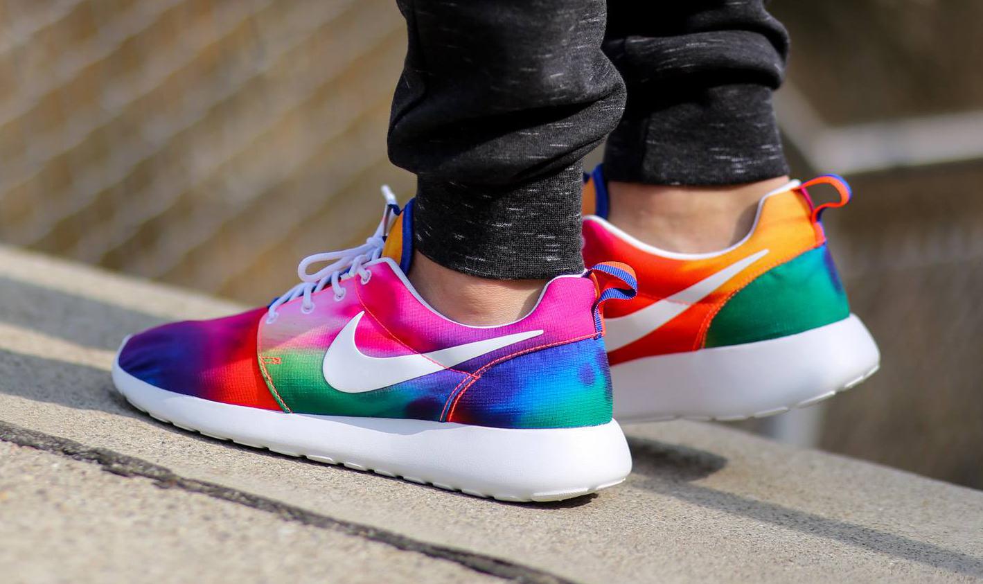 Nike Gets Groovy with Tie Dye Roshe Runs