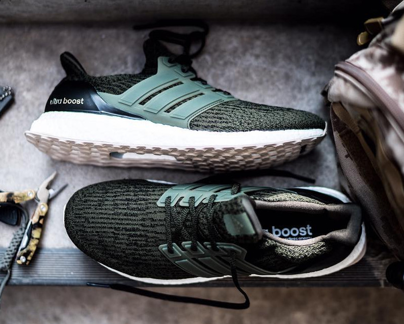 Olive Ultra Boost