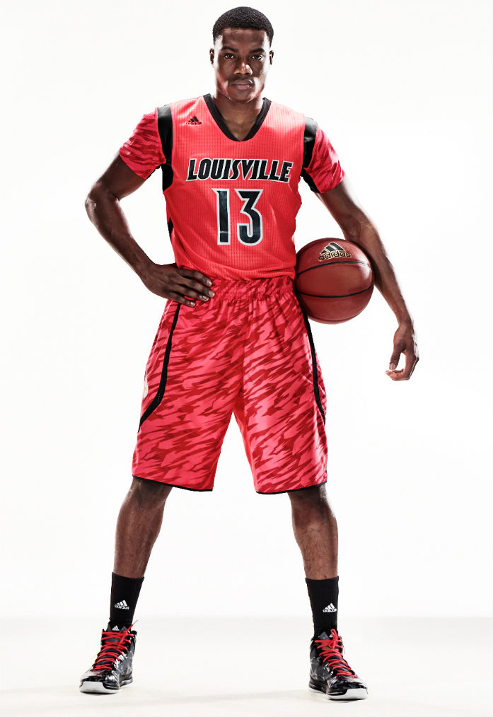 adidas Unveils adizero NCAA Basketball Uniforms For Six Teams - Louisville Cardinal