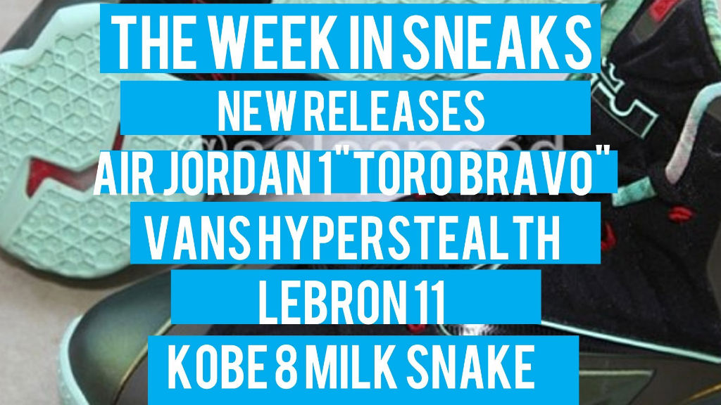 The Week In Sneaks with Jacques Slade : July 13, 2013