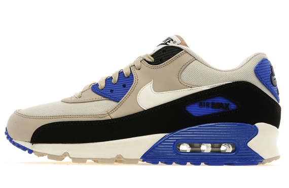Nike Air Max 90 Essential Light BoneStone Blue | Sole