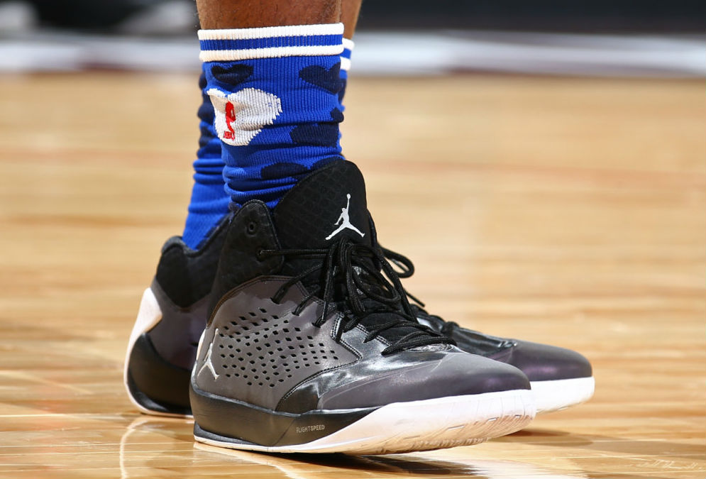 Andre Drummond Wearing the Jordan Rising High (2)