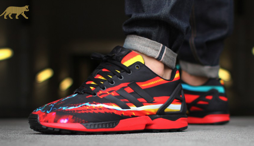 ea4714691b31 adidas ZX Fluxes to satisfy your need for photo print pairs.