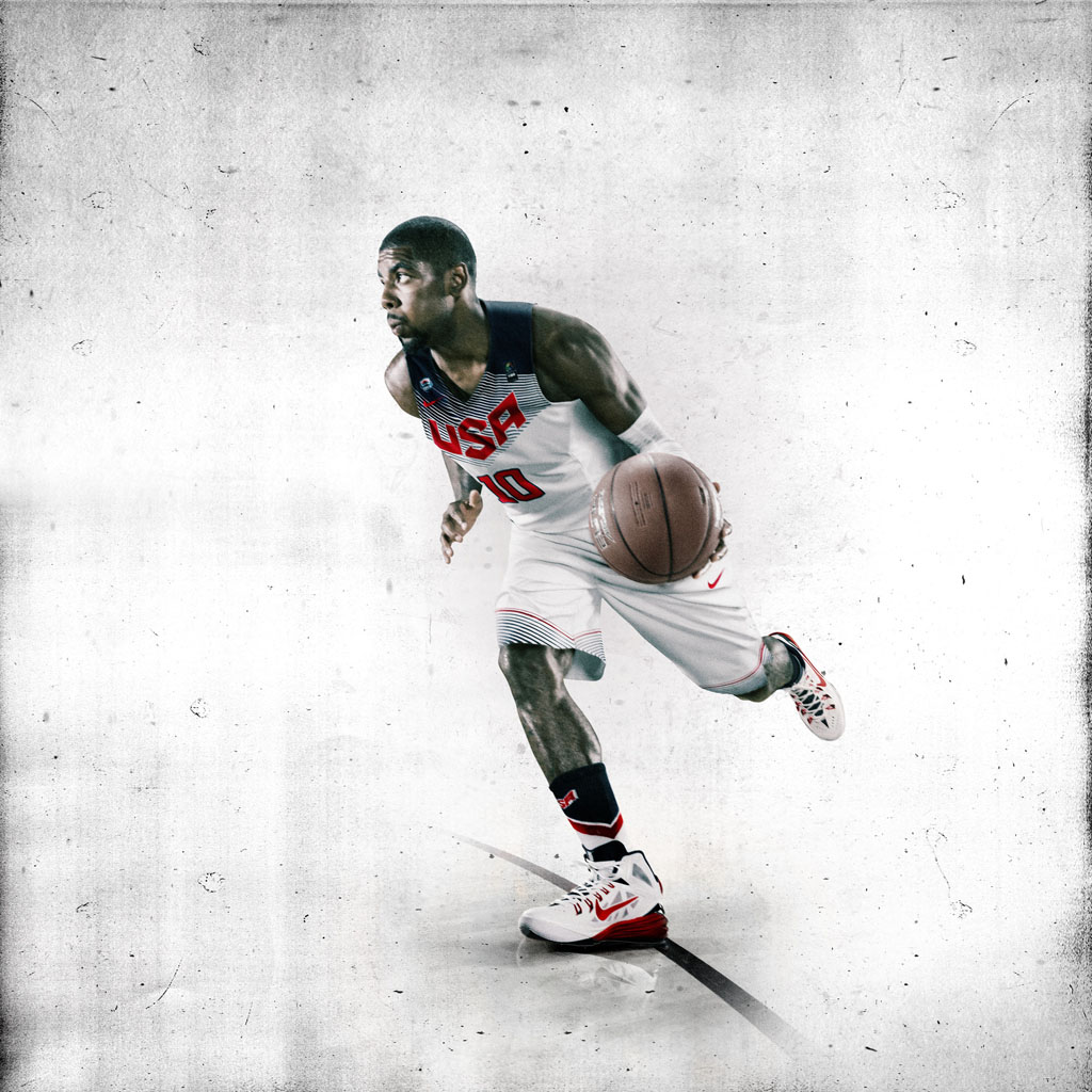 Nike Basketball Unveils 2014 USA Basketball Uniforms - Kyrie Irving (3)