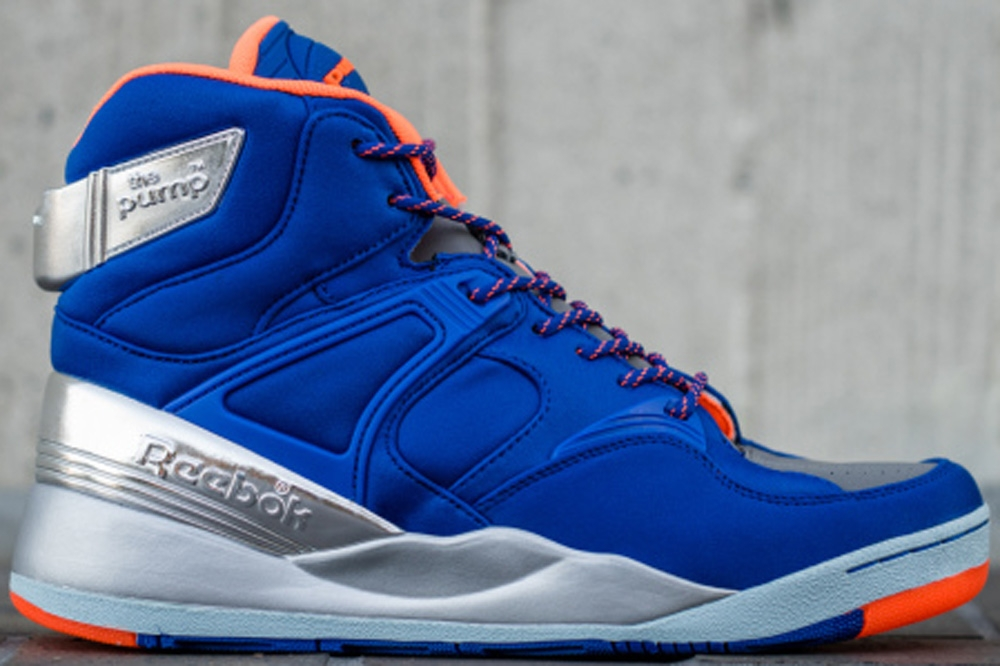 Reebok The Pump Certified Royal Blue/Orange-Metallic Silver