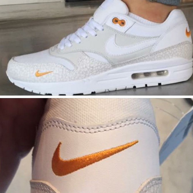 Nike Air Max 1 White Gold