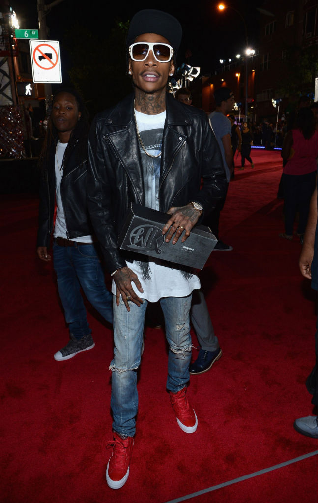 Wiz Khalifa wearing Wiz Khalifa x Converse Chuck Taylor All Star